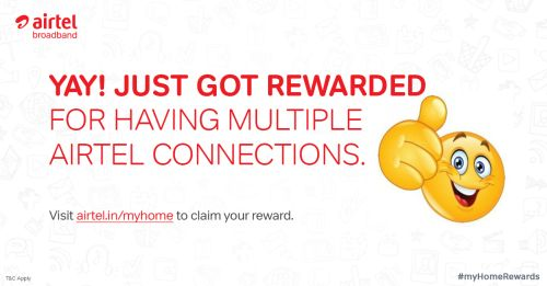 Airtel Broadband Users Get 5GB Free Additional Data